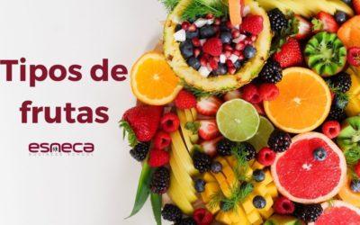 ¿Cuáles son los tipos de frutas?