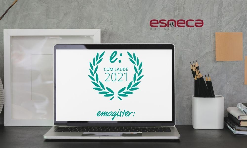 Esneca Latinoamérica obtiene el Sello Cum Laude 2021 gracias a la opiniones de sus estudiantes