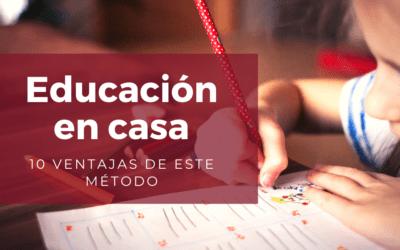 Ventajas de implementar la educación en casa