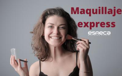 ¿Cómo se realiza un maquillaje express?