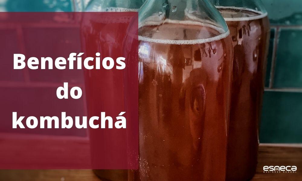 Benefícios do kombuchá para a saúde