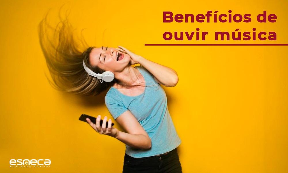 Quais são os benefícios da música?