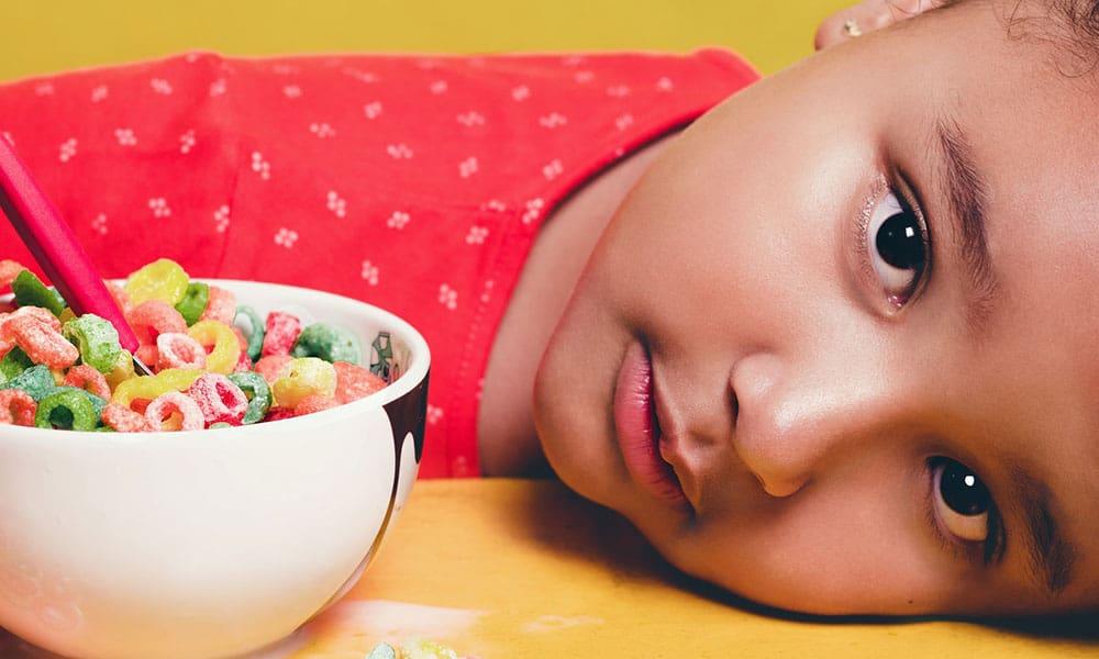 Fomenta la nutrición infantil en los más pequeños
