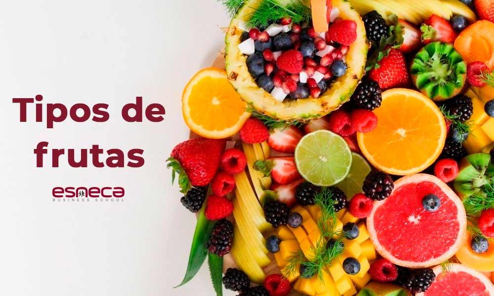 Quais são os tipos de frutas?
